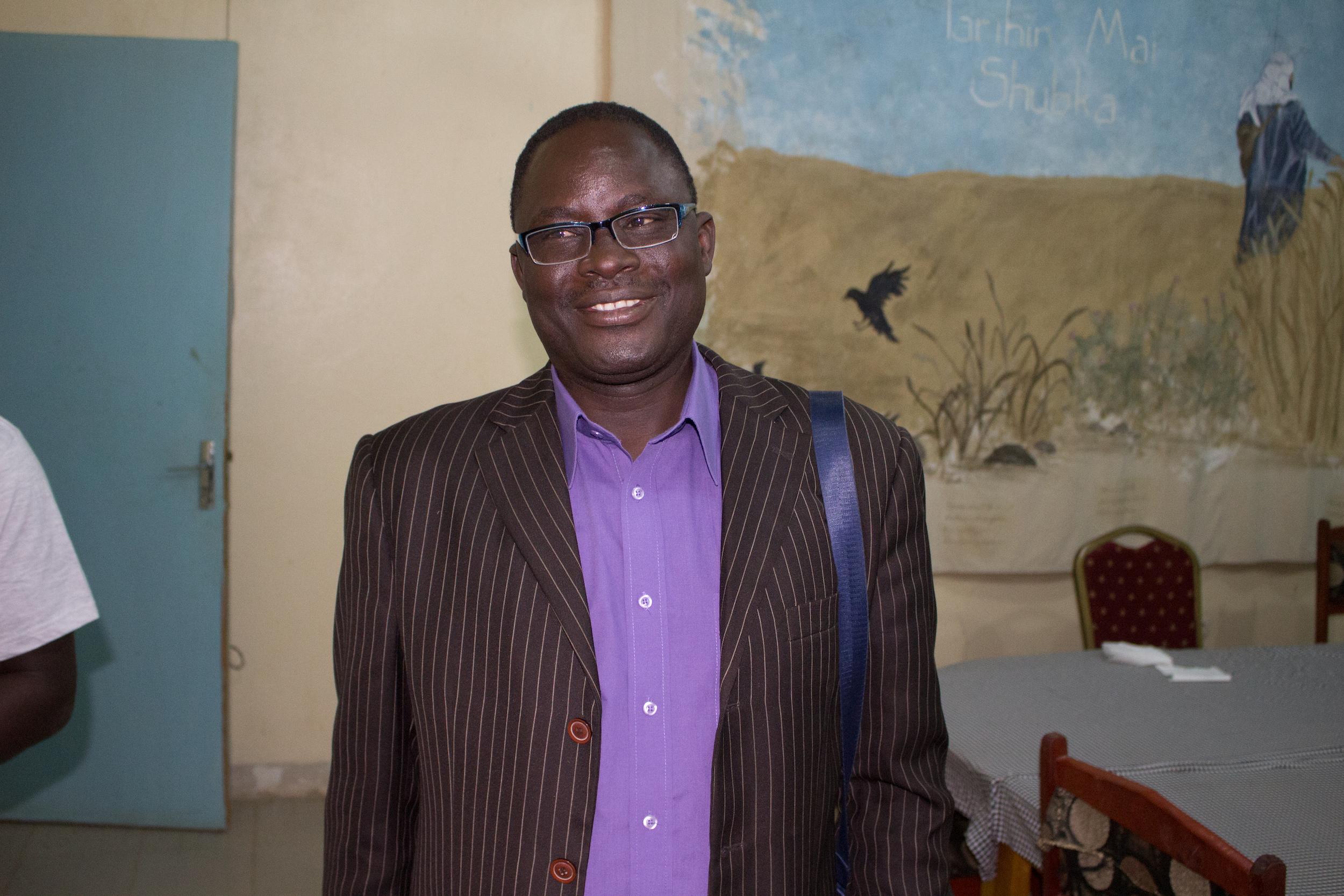Niger man standing